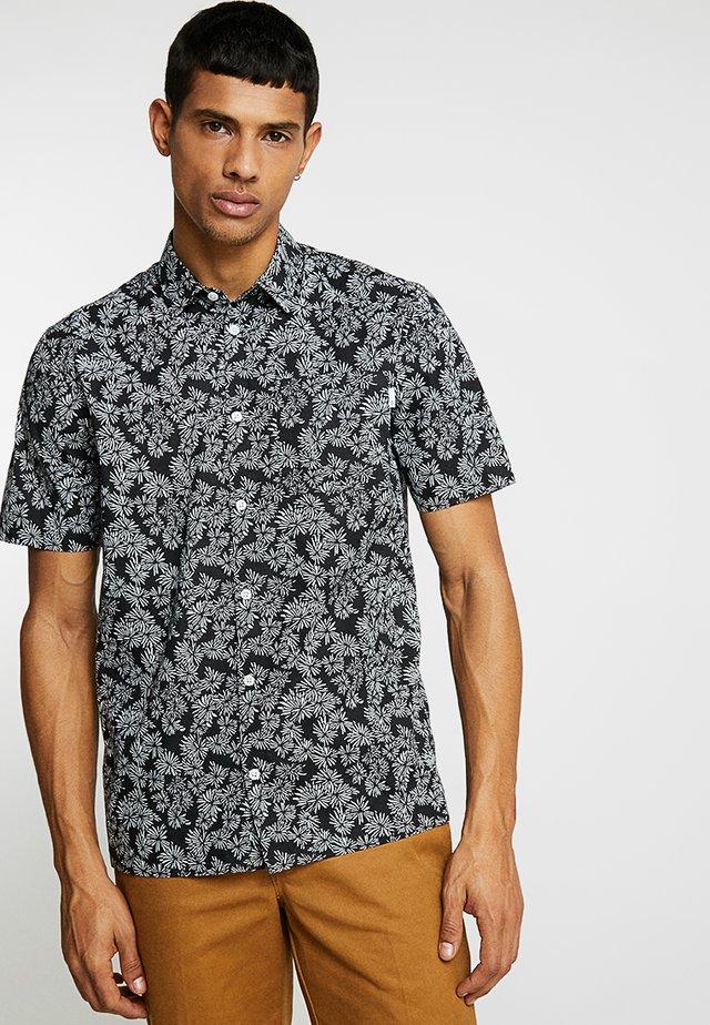 TORPA POPOVER FLORAL SHIRT - Shirt - black