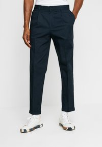 FoR - HARTLEY TAPERED FIT  - Chinos - navy - 0