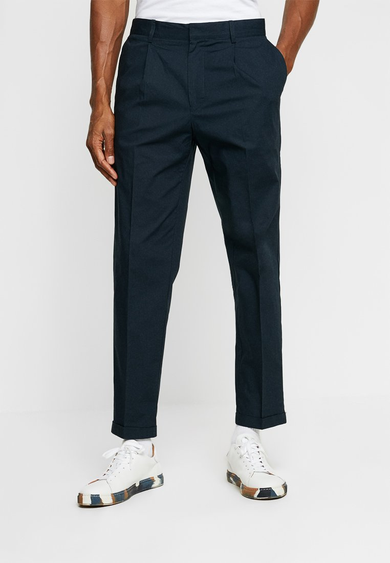 FoR - HARTLEY TAPERED FIT  - Chinos - navy