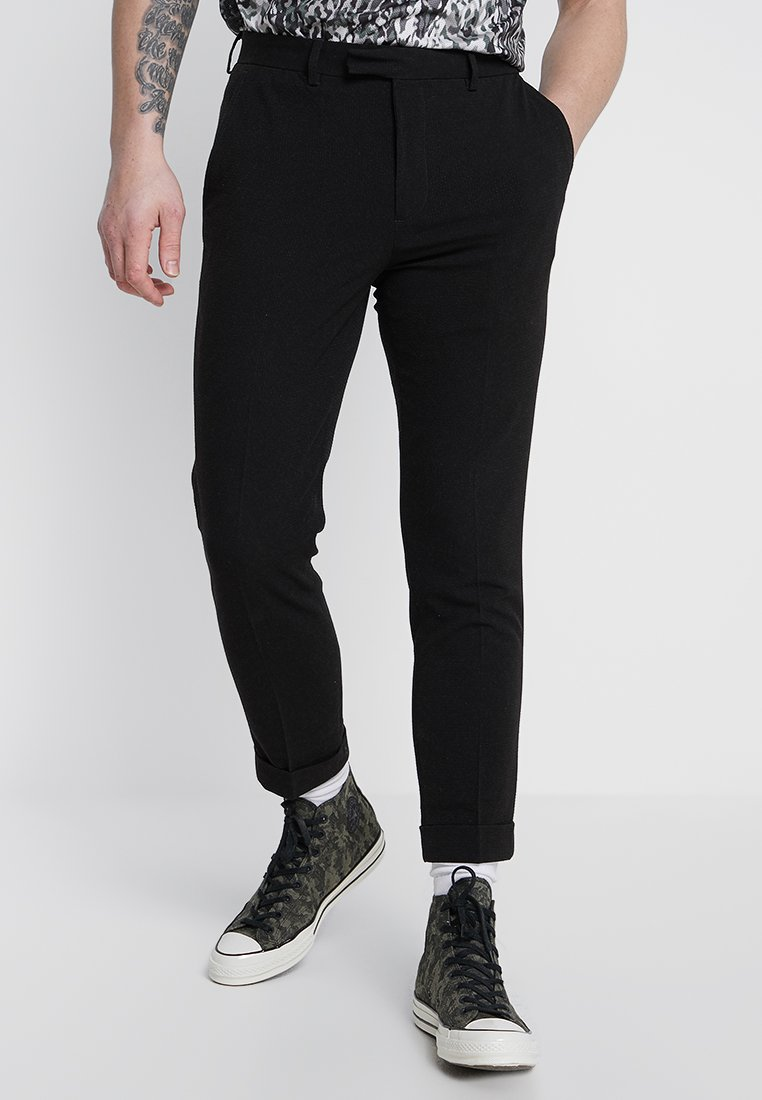 FoR - TROUSER - Bukser - black