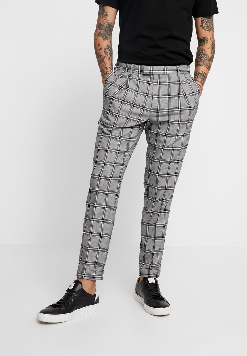 FoR - TEALO TROUSER - Stoffhose - grey