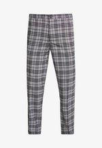 BAND GRAPHIC CHECK - Kalhoty - grey