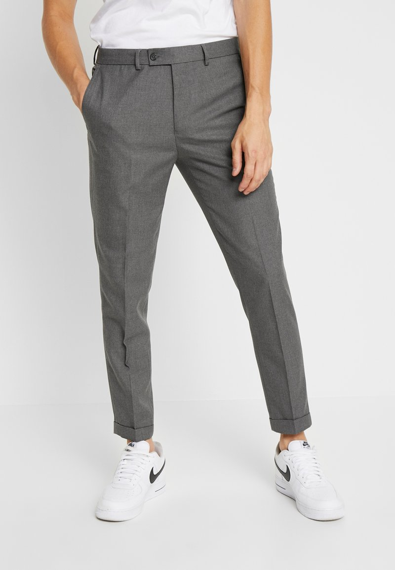 FoR - ANDERSON TWILL  - Trousers - grey