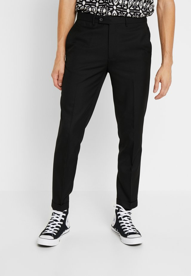 ANDERSON TWILL  - Trousers - black