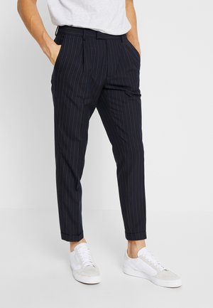 DALTON DOUBLE STRIPE - Broek - navy