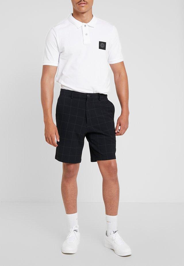 STOCKHOLM SEERSUCK CHECK - Shorts - navy