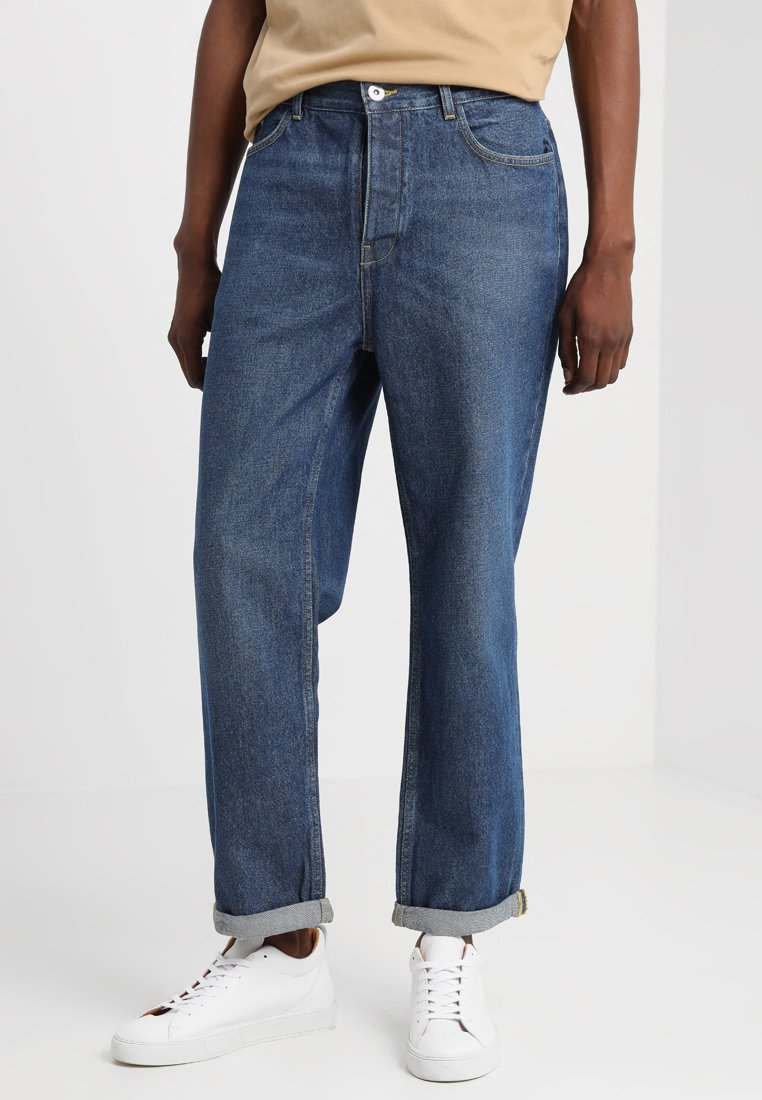 FoR - KIRTLIONG WIDE LEG - Jeans Relaxed Fit - mid wash