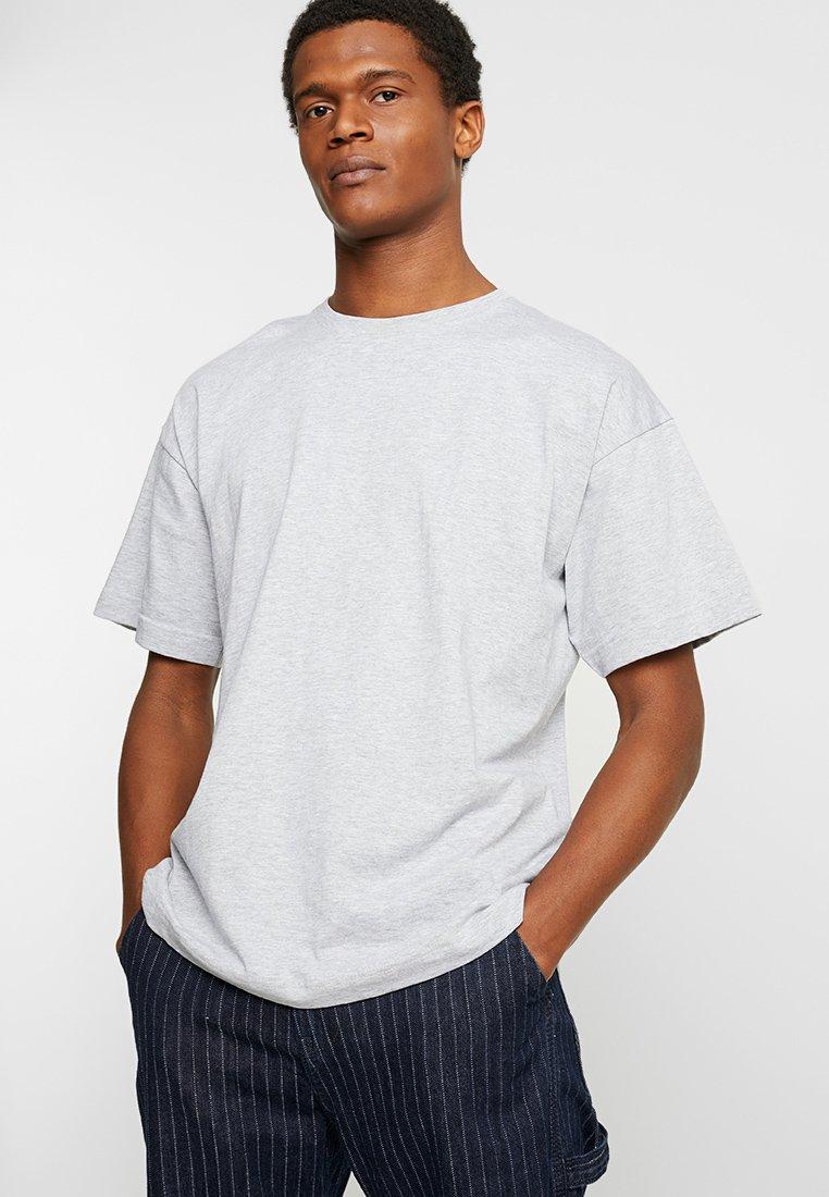 FoR - NOOR DROP SHOULDER TEE - T-Shirt basic - light grey