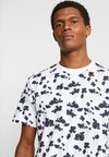 FoR - PIERRE FLORAL TEE - T-shirt con stampa - white