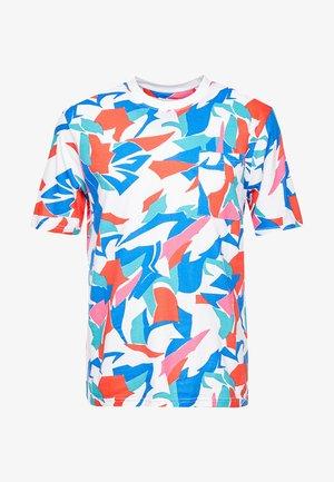 AARON BOLD BRUSH STROKE TEE - T-Shirt print - pink