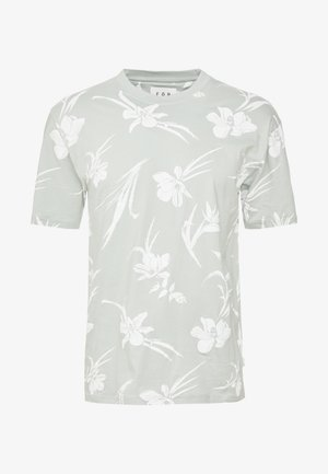 BLOSSOM ORCHID TEEGREEN - T-shirt con stampa - green