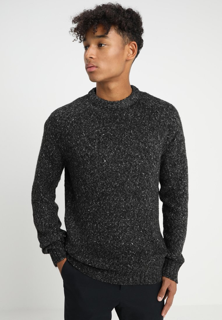 FoR - KENT CREW  - Strickpullover - mid grey