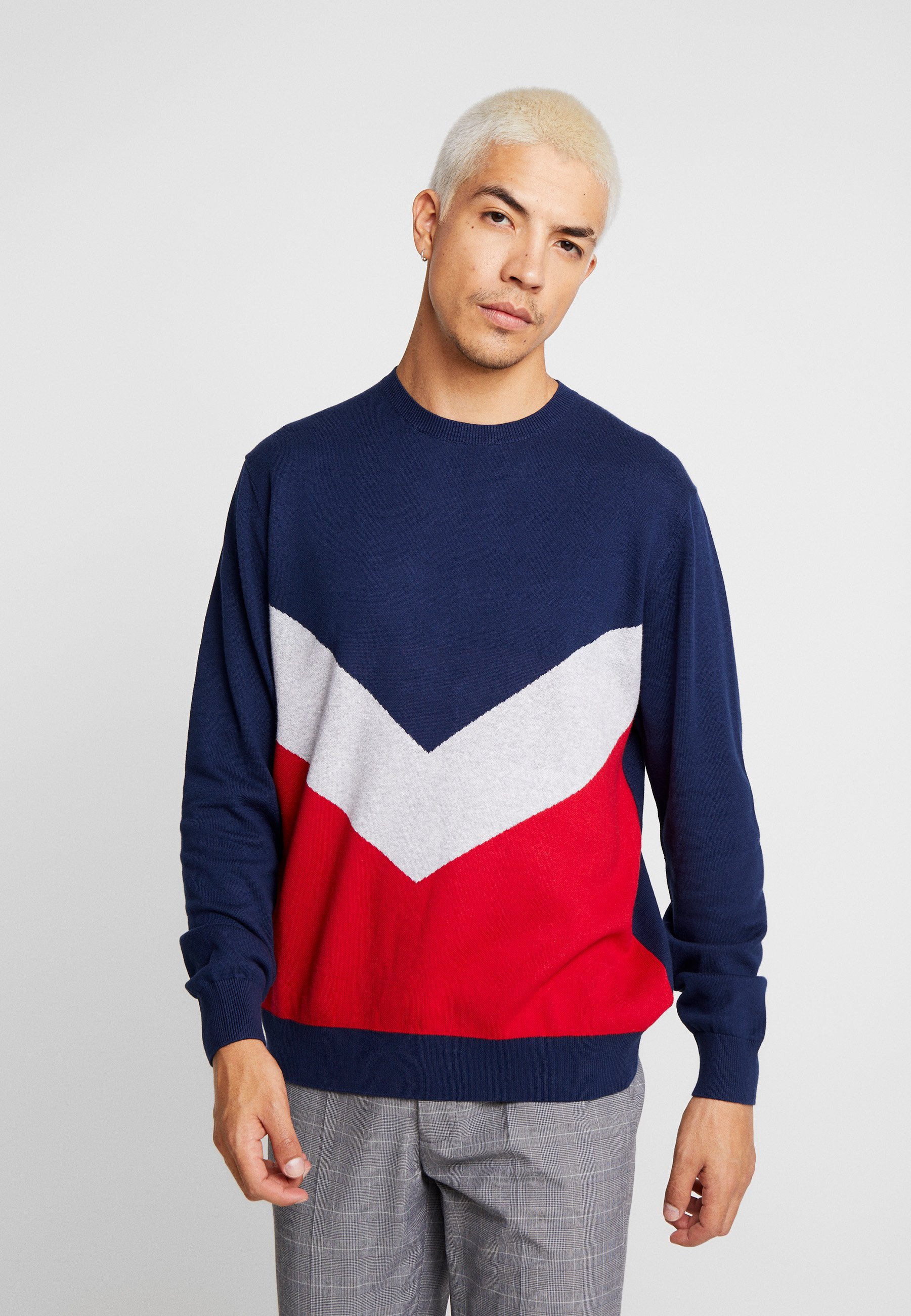 For Chevron JumperPullover Chevron JumperPullover For Red ASc43jL5Rq