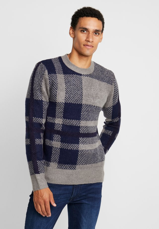 PERRY JUMPER - Strickpullover - grey