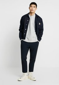 FoR - EVERT BACK PRINT - Sweatshirt - mid grey - 1