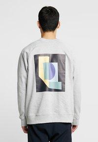 FoR - EVERT BACK PRINT - Sweatshirt - mid grey - 2