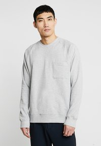 FoR - EVERT BACK PRINT - Sweatshirt - mid grey - 0