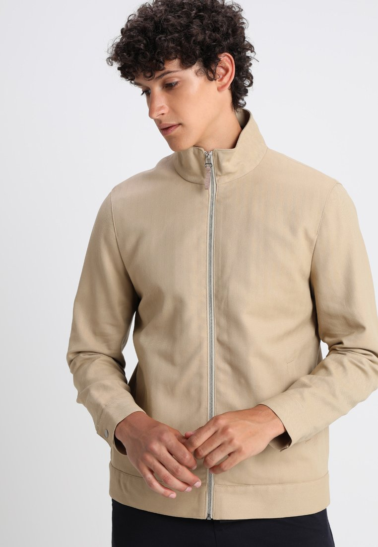 FoR - ARDLEY ZIP THROUGH - Summer jacket - beige