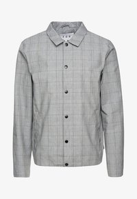 FoR - MALMO COACH JACKET POW CHECK - Leichte Jacke - light grey - 5