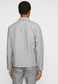 FoR - MALMO COACH JACKET POW CHECK - Leichte Jacke - light grey - 2
