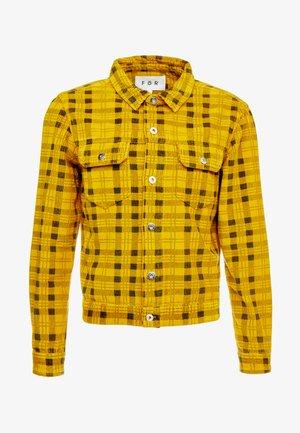 CHCK TRUCKER  - Summer jacket - yellow