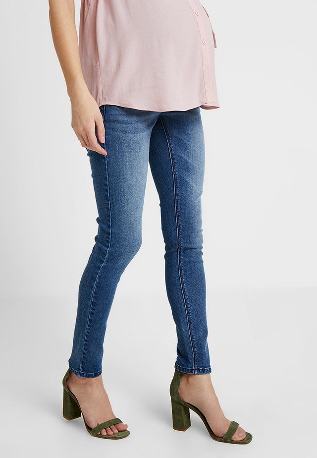 EXCLUSIVE  - Jeansy Skinny Fit - mid blue washed