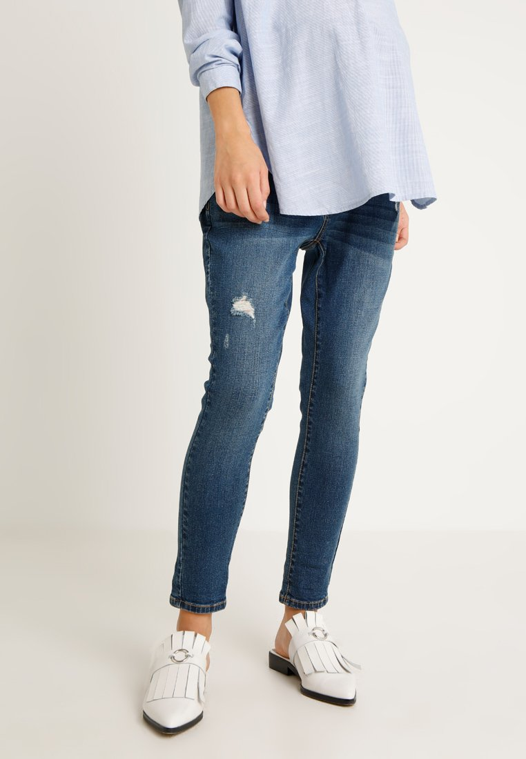 Forever Fit - BOYFRIEND - Slim fit jeans - mid wash