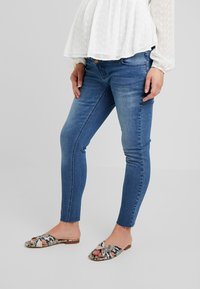 Forever Fit - LEAD - Jeans Skinny Fit - mid wash - 0