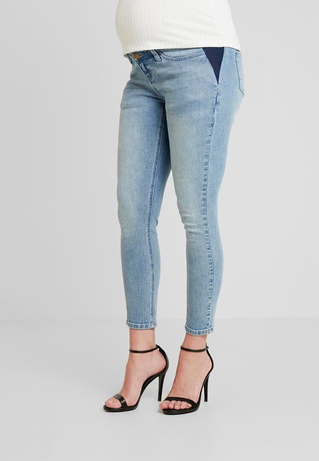 SIDE - Jeans Skinny Fit - mid blue wash