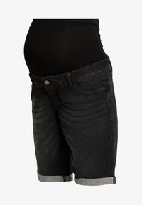 Forever Fit - EXCLUSIVE MID BOY - Jeans Shorts - washed black - 3
