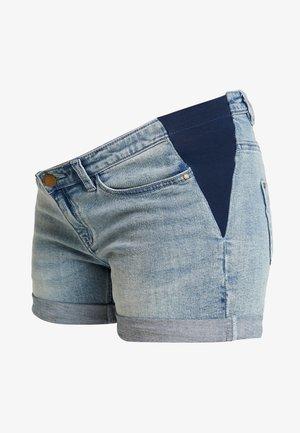 SIDE ELASTIC - Jeansshorts - denim