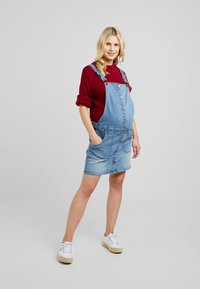 Forever Fit - PINNY - Denim dress - mid wash - 1