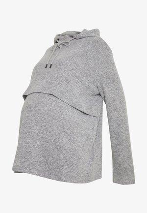 NURSING HOODIE - Sweatshirt - grey