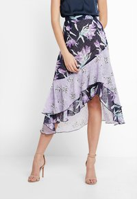 Foxiedox - LALA  - Blyantnederdel / pencil skirts - purple multi - 0