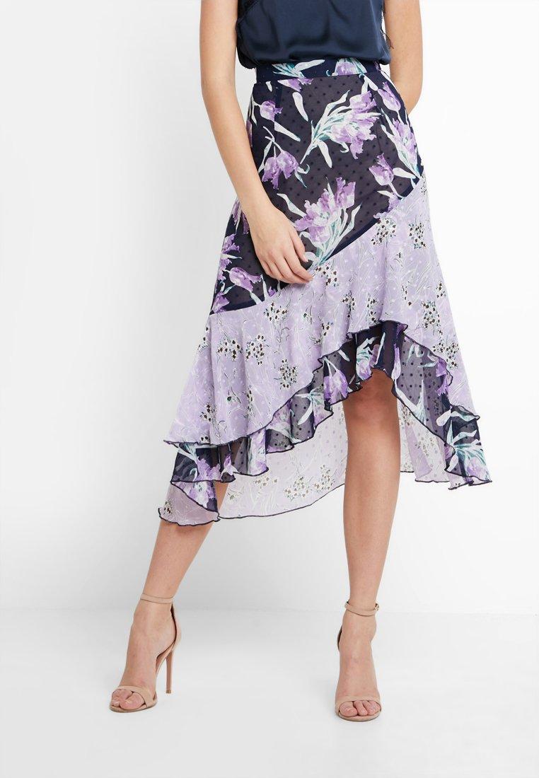 Foxiedox - LALA  - Blyantnederdel / pencil skirts - purple multi