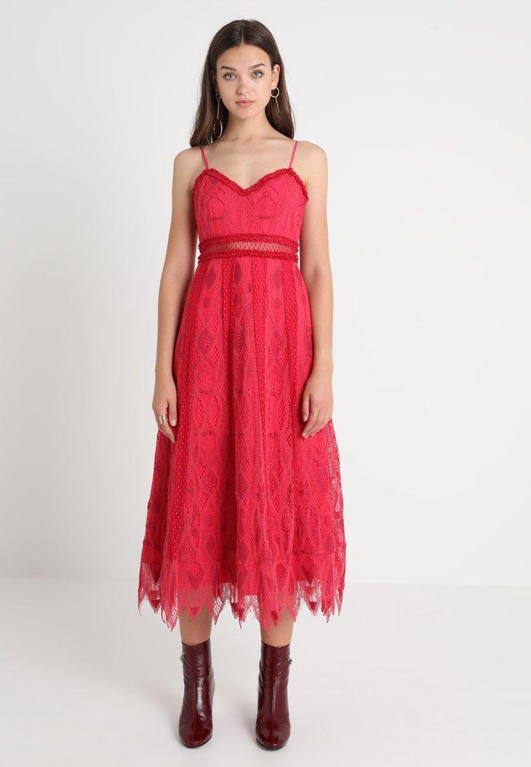 Foxiedox - GLORIA DRESS - Maxikleid - raspberry