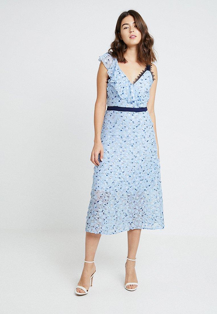 Foxiedox Robe d'été - bleu light blue