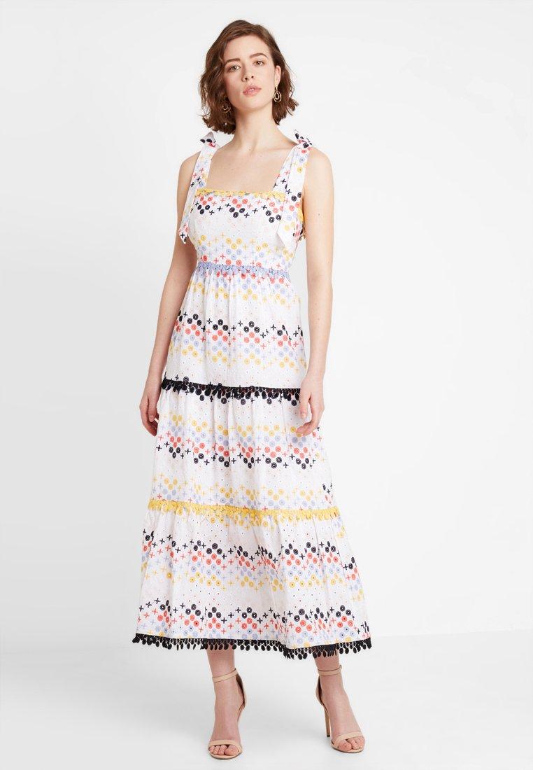 Foxiedox - VALENTINA - Maxi dress - white multi