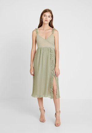 DRESS - Maxikjoler - lime fizz
