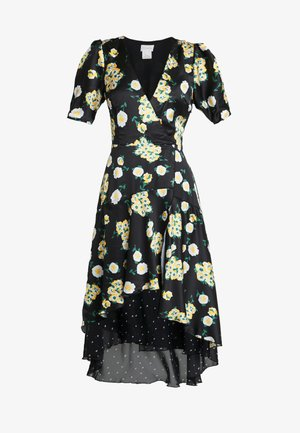 ANEMONE MIDI DRESS - Maksimekko - black