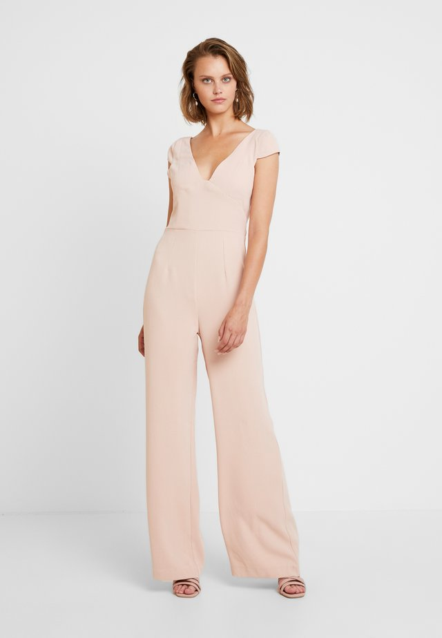 HERMOINE - Jumpsuit - blush