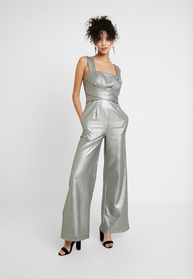 SAPPHO - Jumpsuit - gray metallic