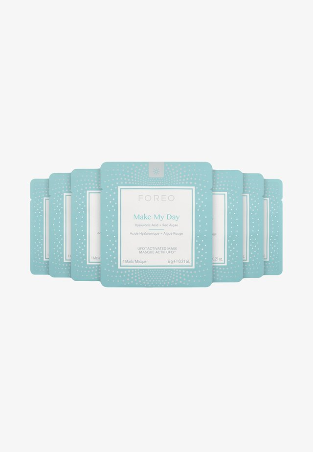 FOREO UFO ACTIVATED MASK 7 PACK MAKE MY DAY - Face mask - white
