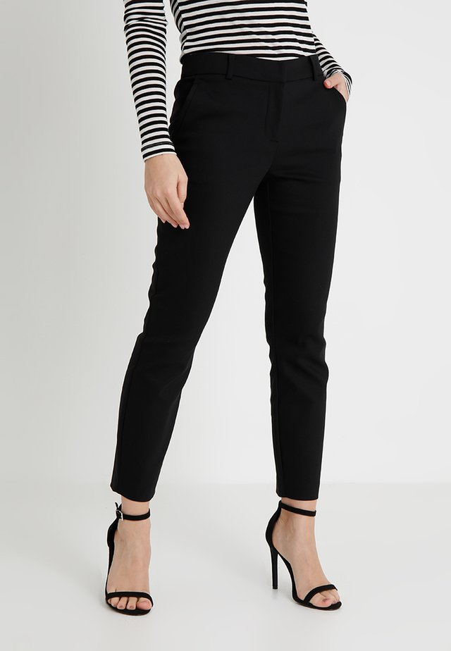 MINDY PANT - Tygbyxor - black