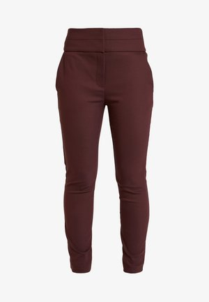 GEORGIA PANT - Trousers - wine