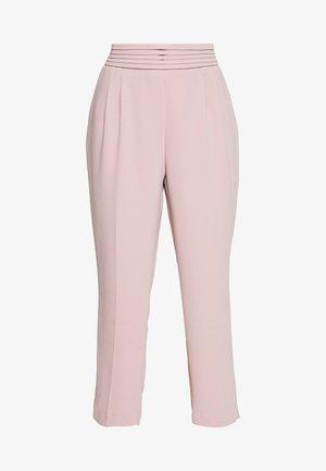 DRAPE PANT - Pantalon classique - blush