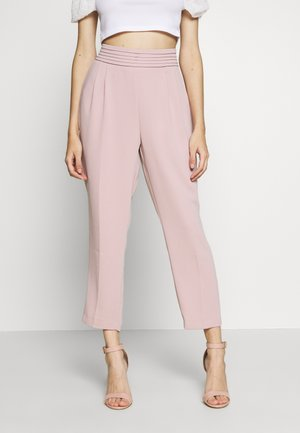 DRAPE PANT - Bukse - blush