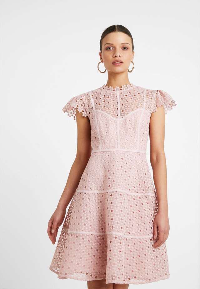 ELLA SKATER DRESS - Sukienka koktajlowa - blush