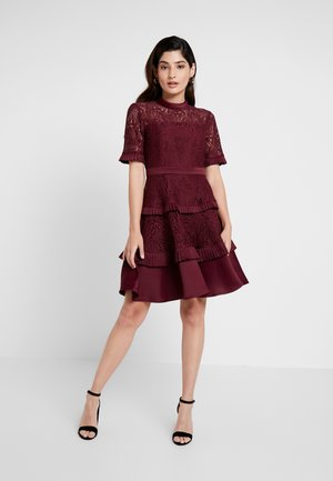 RAINE PANEL PROM - Cocktail dress / Party dress - burgandy