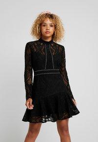 Forever New Petite - MINI DRESS - Cocktail dress / Party dress - black - 0